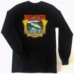 Back of Steelhead Long Sleeve Shirt