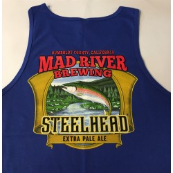 Men's Steelhead Blue Tank