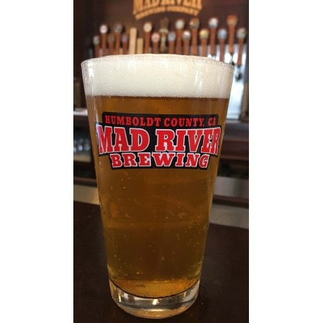 Mad River Logo 16 oz Shaker Pint