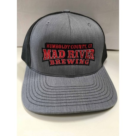 Mad River Logo Trucker Hat - Mad River Brewing c1b4f1ebbd79